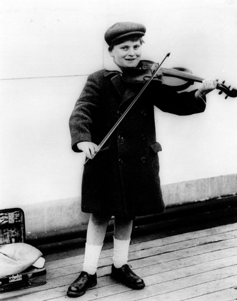 Photo Yehudi Menuhin