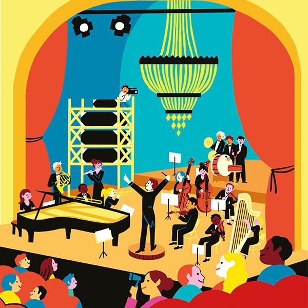 orchestre lamoureux bébé concert
