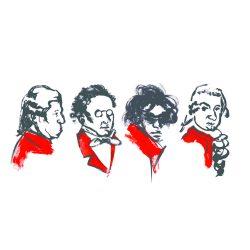 Visuel concert The Big Four - Maîtres Viennois